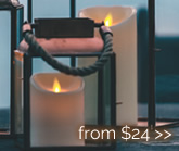 Luminara Flameless Wax Candles