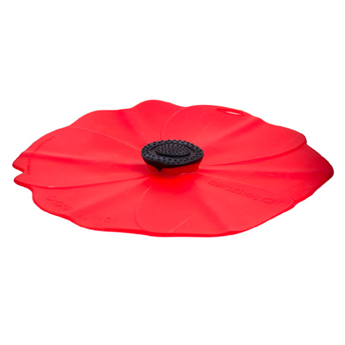 6-Inch Poppy Silicone Lid