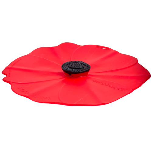 13-Inch Poppy Silicone Lid