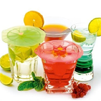 Silicone Drink Covers by Charles Viancin