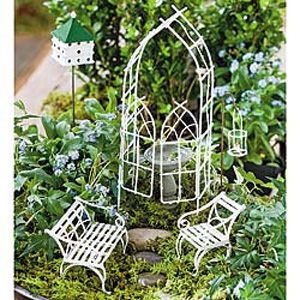 Willow Fairy Garden Set