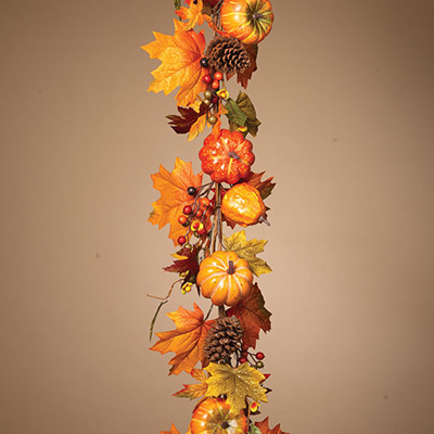 Harvest Pumpkin Garland