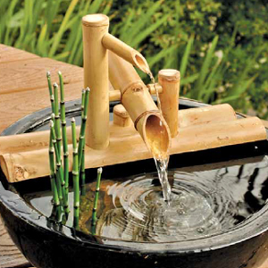 Rocking Arm Bamboo Fountain Kit