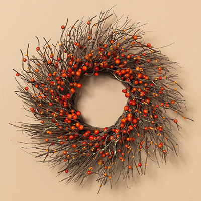 Harvest Twig Wreath