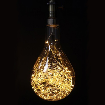 Teardrop 3W Light String Bulb