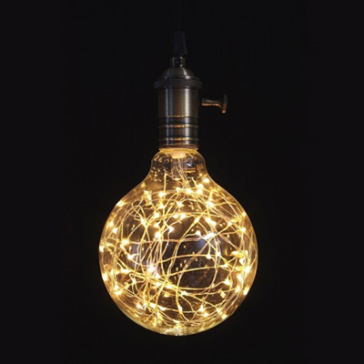 Round 1W Light String Bulb