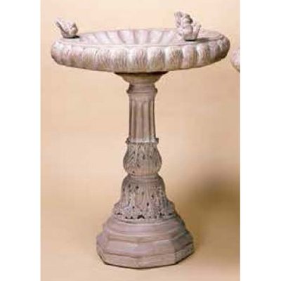 Classic 3-Dove Bird Bath