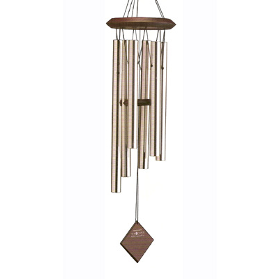 Silver Chimes of Pluto Wind Chimes