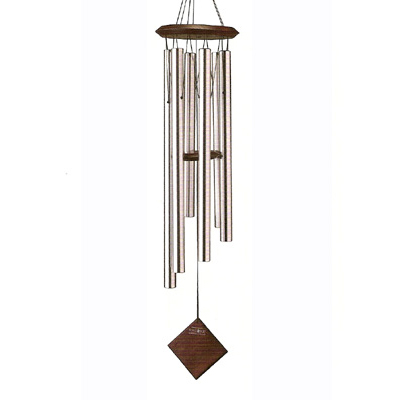 Silver Chimes of Earth Wind Chimes
