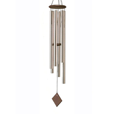 Silver Chimes of Neptune Wind Chimes