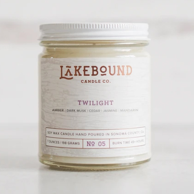 Twilight Soy Candle