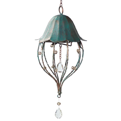 Small Lighted Hanging Lantern