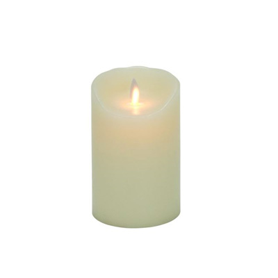 5-Inch Mystique Flameless Wax Pillar Candle
