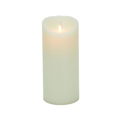7-Inch Mystique Flameless Wax Pillar Candle