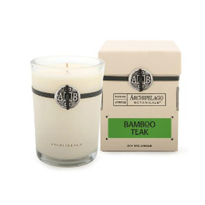Bamboo Teak Soy Candle