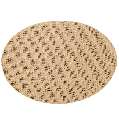 Oval Placemat, Beige
