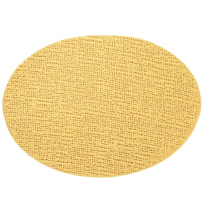 Oval Placemat, Butterscotch