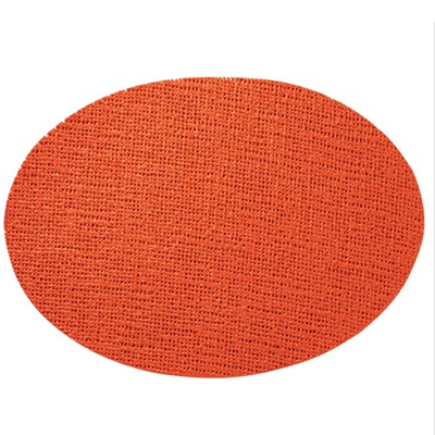 Oval Placemat, Cinnamon