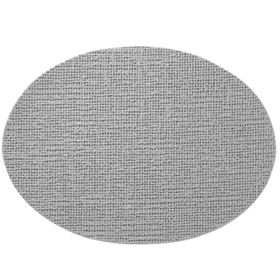 Oval Placemat, Gray