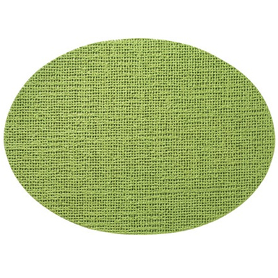 Oval Placemat, Lime