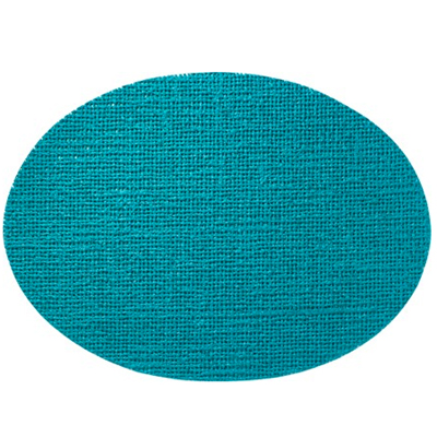 Oval Placemat, Teal