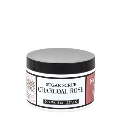 Charcoal Rose Sugar Scrub