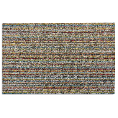 Skinny Stripe Bright Multi Doormat