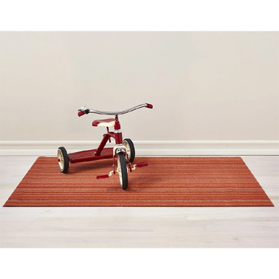 Skinny Stripe Orange Big Mat