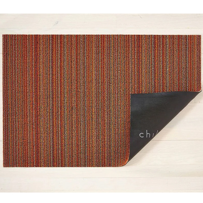 Skinny Stripe Orange Utility Mat