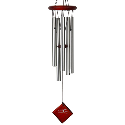 Silver Chimes of Polaris Wind Chimes