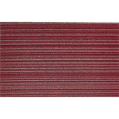 Skinny Stripe Raspberry Doormat