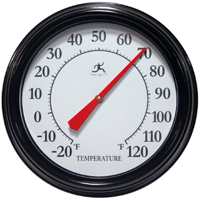 Basic Thermometer, Black